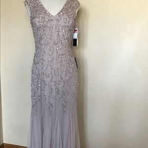 Rose gold sequin gown never worn. From Nordstrom